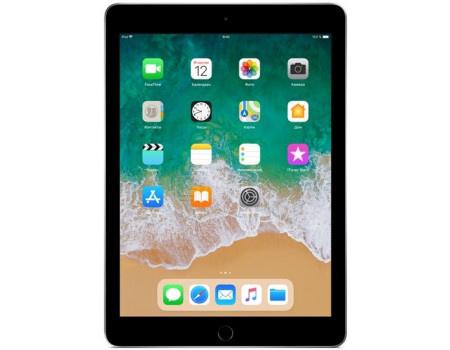 """Apple iPad 9.7 2018 32Gb Wi-Fi Space Gray Планшет Apple iPad 9.7 2018 32Gb Wi-Fi Space Gray (iOS 11/A10 Fusion 2340MHz/9.7"""" 2048x1536/2048Mb/32Gb/ ) [MR7F2RU/A] MR7F2RU/A"""