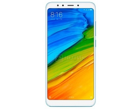 Смартфон Xiaomi Redmi 5 Plus 32Gb Blue (Android 7.1 (Nougat)/MSM8953 2000MHz/6.0