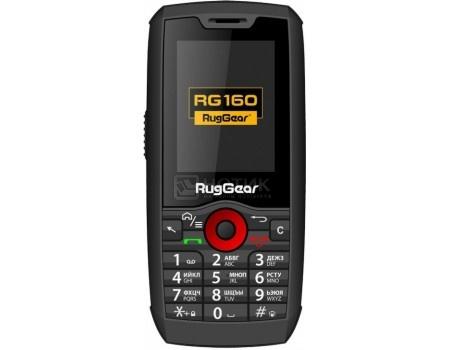 "Фотография товара защищенные смартфоны RugGear RG160 (Android 4.4/MT6572M 1000MHz/2.4"" 320x240/256Mb/0.5Gb/ 3G (EDGE, HSDPA, HSUPA)) [4627078301691] (58928)"