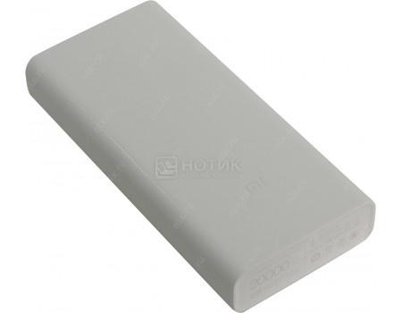Купить внешний аккумулятор Xiaomi Mi Power Bank 2С 20000 мАч, 5V/2.0А  micro USB, 2xUSB 5V/2.4А Белый VXN4220GL (58963) в Москве, в Спб и в России