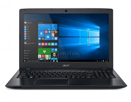 Ноутбук Acer Aspire E5-576G-357Q (15.6 TN (LED)/ Core i3 6006U 2000MHz/ 4096Mb/ HDD 500Gb/ NVIDIA GeForce GT 940MX 2048Mb) MS Windows 10 Home (64-bit) [NX.GTZER.011]