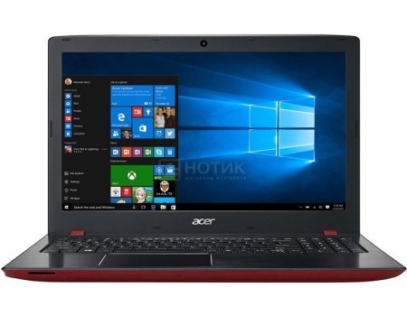 Ноутбук Acer Aspire E5-576G-39E7 (15.6 TN (LED)/ Core i3 6006U 2000MHz/ 4096Mb/ HDD 500Gb/ NVIDIA GeForce GT 940MX 2048Mb) MS Windows 10 Home (64-bit) [NX.GU3ER.002]
