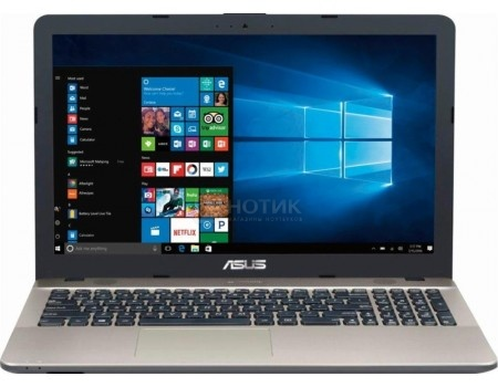 Ультрабук ASUS VivoBook Max K541UV-DM1488T (15.6 TN (LED)/ Core i3 7100U 2400MHz/ 6144Mb/ HDD 1000Gb/ NVIDIA GeForce GT 920MX 2048Mb) MS Windows 10 Home (64-bit) [90NB0CG1-M22090]