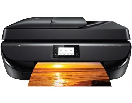 МФУ струйное цветное HP Deskjet Ink Advantage 5275, A4, ADF, дуплекс, 10/7 стр/мин, 256Мб, USB, факс, Wi-Fi, Черный M2U76C фото