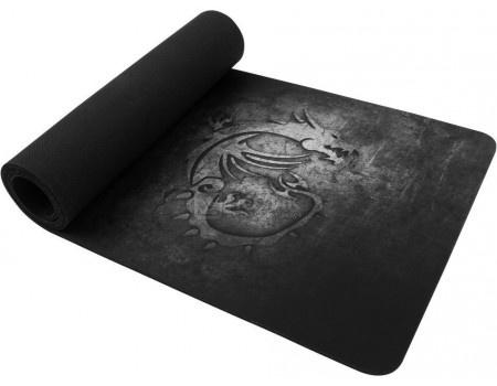 Фотография товара коврик для мыши игровой MSI Gaming Mousepad XL, Черный GF9-V000005-EB9 (59053)