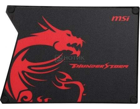 Фотография товара коврик для мыши игровой MSI Thunderstorm Aluminum Gaming Mousepad, Черный GF9-V000001-EB9 (59057)