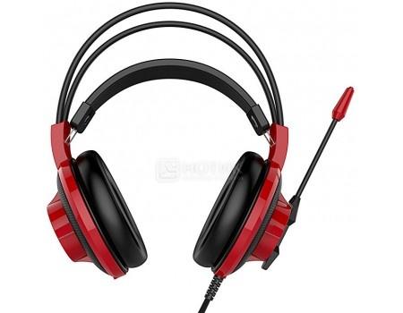 Фотография товара гарнитура проводная MSI DS501 Gaming Headset, Черный/Красный S37-2100920-SV1 (59058)