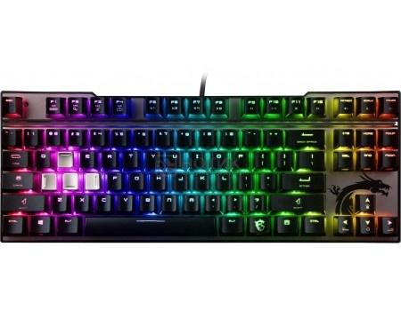 Фотография товара клавиатура проводная MSI Vigor GK70 Red Switches, USB, Черный, S11-04RU214-HH6 (59068)