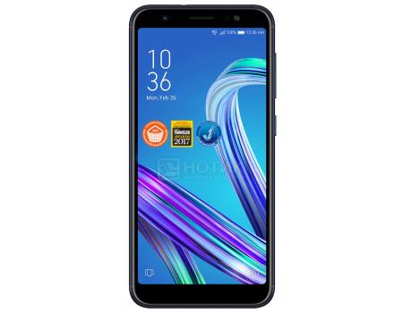 "Фотография товара смартфон ASUS Zenfone Max M1 ZB555KL 16Gb Ram 2Gb (Android 7.0 (Nougat)/MSM8917 1400MHz/5.50"" 1440x720/2048Mb/16Gb/4G LTE ) [90AX00P1-M00630] (59081)"