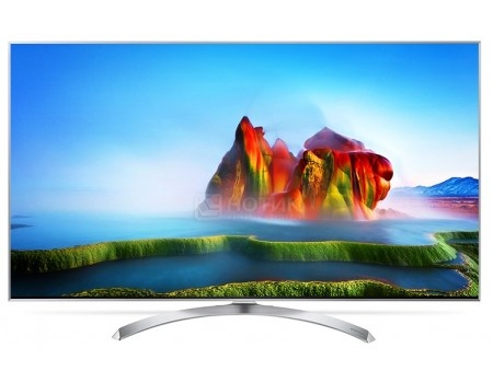 Телевизор LG 55 55SJ810V IPS, UHD, Smart TV (webOS 3.5), PMI 2800, Серебристый