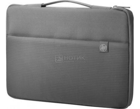 "Фотография товара сумка-чехол 17"" HP Crosshatch Carry Sleeve, 1PD68AA, Синтетика, Серый (59191)"