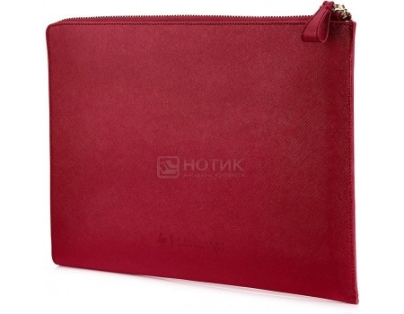 "Чехол 13.3"" HP Spectre Split Leather Sleeve , 2HW35AA, Кожа, Красный"
