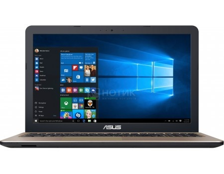 Ноутбук ASUS D540YA-DM708D (15.6 TN (LED)/ E-Series E1-7010 1500MHz/ 2048Mb/ HDD 500Gb/ AMD Radeon R2 series 64Mb) Free DOS [90NB0CN1-M10610]