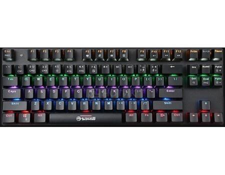 Фотография товара клавиатура проводная Marvo KG914, USB, Черный, 6932391916421 (59237)