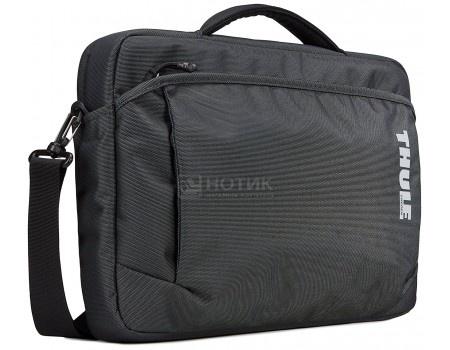 "Фотография товара сумка 15,4"" Thule Subterra Attache TSA-315_DARK_SHADOW, Нейлон, Черный (59286)"