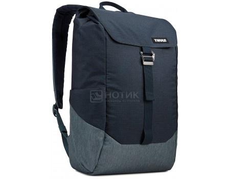 "Фотография товара рюкзак 14"" Thule Lithos Backpack 16L, TLBP-113_CARBON_BLUE, Полиэстер, Синий (59332)"