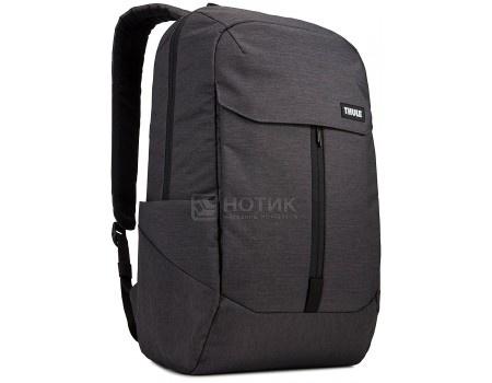 """Рюкзак 15,6"""" Thule Lithos Backpack 20L, TLBP-116_BLACK, Полиэстер, Черный"""