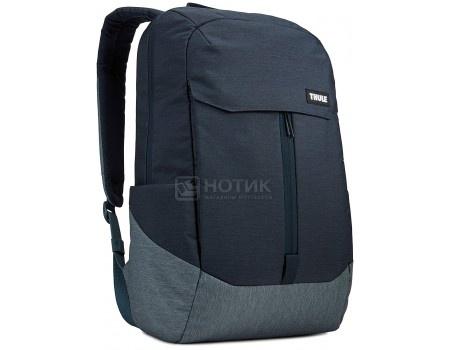 "Рюкзак 15,6"" Thule Lithos Backpack 20L, TLBP-116_CARBON_BLUE, Полиэстер, Синий"