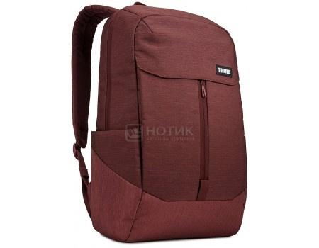 """Рюкзак 15,6"""" Thule Lithos Backpack 20L, TLBP-116_DARK_BURGUNDY, Полиэстер, Бордовый"""