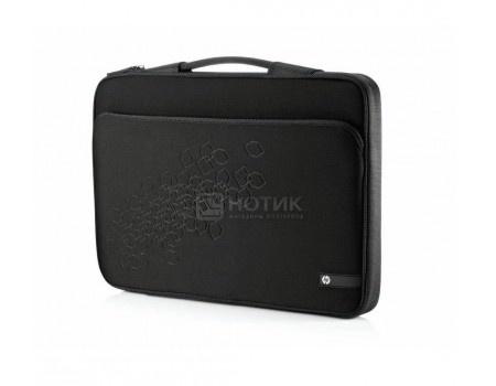 "Сумка-чехол 16"" HP Black Cherry Notebook Sleeve, WU673AA, Неопрен, Серый"