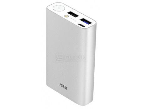 Внешний аккумулятор ASUS ZenPower 10050C QC, 10050 мАч, 1xUSB Type-C, 2xUSB Серебристый 90AC02V0-BBT008 фото