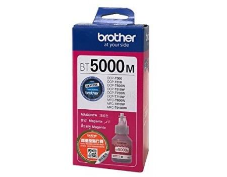 Фотография товара бутылка с чернилами Brother BT5000M для DCP-T310/DCP-T510W/DCP-T710W, Пурпурный BT5000M 5000стр (59538)