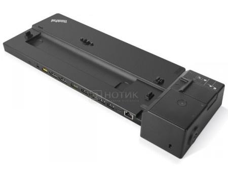 Фотография товара док-станция для Lenovo ThinkPad Basic Docking Station (90 Вт, RJ-45, 3xUSB 2.0, 2xUSB 3.1, 2xUSB 2.0 VGA, DisplayPort) Черный 40AG0090EU (59545)