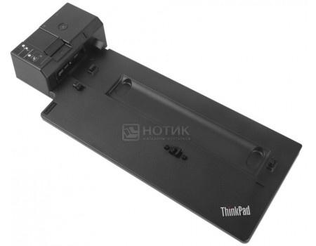 Фотография товара док-станция для Lenovo ThinkPad Pro Docking Station (135 Вт, RJ-45, 2xUSB 2.0, 3xUSB 3.1, 1xUSB Type-C, 2xDisplayPort) Черный 40AH0135EU (59546)