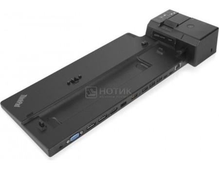 Фотография товара док-станция для Lenovo ThinkPad Ultra Docking Station (135 Вт, RJ-45, 4xUSB 3.1, 2xUSB Type-C, 2xDisplayPort, HDMI, VGA) Черный 40AJ0135EU (59547)