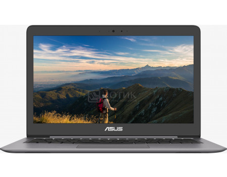 Фотография товара ультрабук ASUS Zenbook UX310UA-FC468 (13.3 IPS (LED)/ Core i3 7100U 2400MHz/ 4096Mb/ SSD / Intel HD Graphics 620 64Mb) Endless OS [90NB0CJ1-M17900] (59562)