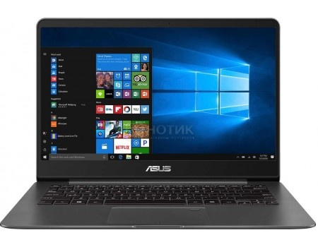Фотография товара ультрабук ASUS Zenbook UX430UN-GV043R (14.0 IPS (LED)/ Core i7 8550U 1800MHz/ 16384Mb/ SSD / NVIDIA GeForce® MX150 2048Mb) MS Windows 10 Professional (64-bit) [90NB0GH1-M04430] (59566)