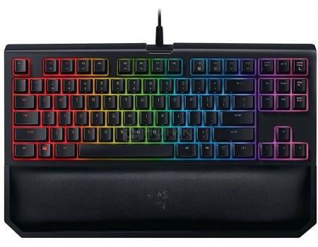 Клавиатура проводная Razer BlackWidow Tournament Chroma V2 (Orange Switch), Черный RZ03-02190700-R3M1