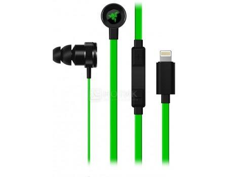 Гарнитура проводная Razer Hammerhead for iOS Зеленый/Черный RZ04-02090100-R3G1