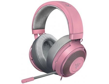 Гарнитура проводная Razer Kraken Pro V2 Oval, Quartz Pink, RZ04-02050900-R3M1 Розовый
