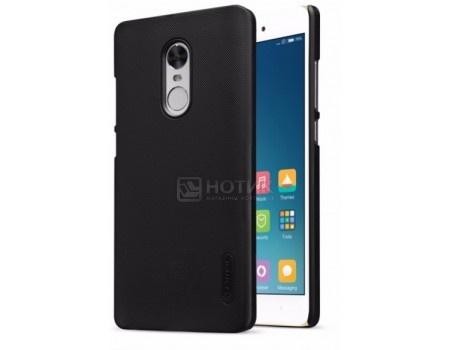 Фотография товара чехол-накладка NILLKIN Super Frosted Shield для Xiaomi Redmi Note 4/4X, Поликарбонат, Black, Черный 6902048137370 (59619)