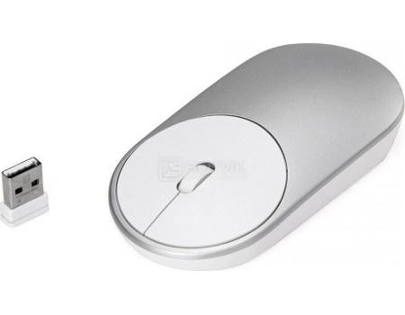 Фотография товара мышь беспроводная Xiaomi Mi Portable Mouse Silver, Bluetooth, 1200dpi, Серебристый HLK4007GL (59709)