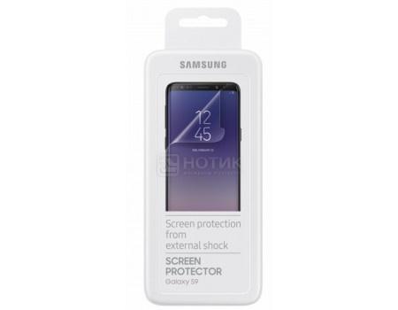 Фотография товара защитная пленка Samsung для смартфона Samsung Galaxy S9 , Прозрачная, ET-FG960CTEGRU (59732)