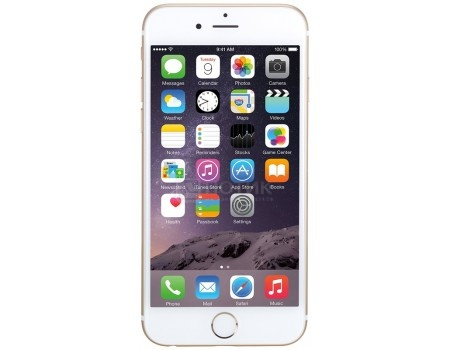 "Фотография товара смартфон Apple iPhone 6 32Gb Gold (iOS/A8 1400MHz/4.7"" 1334x750/1024Mb/32Gb/4G LTE ) [MQ3E2RU/A] (59735)"