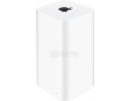 Фотография товара маршрутизатор Apple AirPort Time Capsule 2Tb 4xLAN, 1xWAN, 1xUSB, 802.11b/g/n/ac 2x2, 10/100/1000Base-TX, ME177RU/A, Белый (59737)