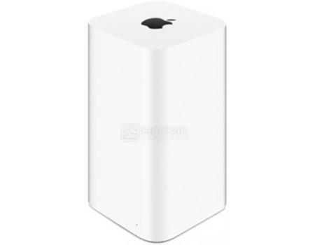 Фотография товара маршрутизатор Apple AirPort Extreme 4xLAN, 1xWAN, 1xUSB, 802.11b/g/n/ac 2x2, 10/100/1000Base-TX, ME918RU/A, Белый (59742)
