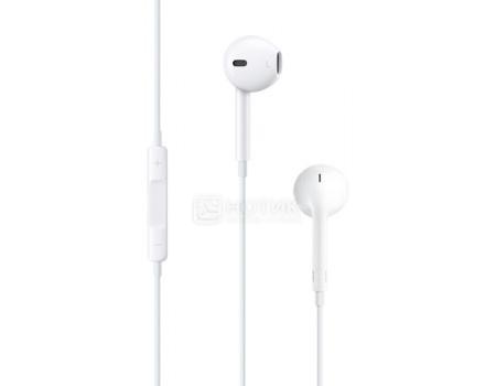 Фотография товара гарнитура проводная Apple EarPods with Remote and Mic, Белый MNHF2ZM/A (59749)