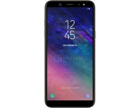 Смартфон Samsung Galaxy A6 2018 SM-A600F Gold (Android 8.0 (Oreo)/Exynos 7870 1600MHz/5.6