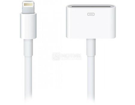 Фотография товара кабель Apple Lightning to 30-pin Adapter 0.2м, MD824ZM/A Белый (59770)