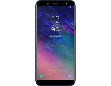 """Фотография товара смартфон Samsung Galaxy A6+ 2018 SM-A605F Blue (Android 8.0 (Oreo)/SDM450 1800MHz/6.00"""" 2220x1080/3072Mb/32Gb/4G LTE ) [SM-A605FZBNSER] (59869)"""