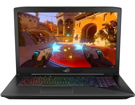 Фотография товара ноутбук ASUS ROG GL703VD-GC046T (17.3 IPS (LED)/ Core i5 7300HQ 2500MHz/ 16384Mb/ HDD 1000Gb/ NVIDIA GeForce® GTX 1050 4096Mb) MS Windows 10 Home (64-bit) [90NB0GM2-M03310] (59893)