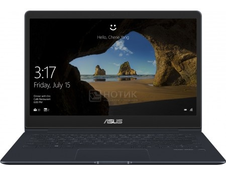 Фотография товара ультрабук ASUS Zenbook 13 UX331UAL-EG002R (13.3 IPS (LED)/ Core i5 8250U 1600MHz/ 8192Mb/ SSD / Intel UHD Graphics 620 64Mb) MS Windows 10 Professional (64-bit) [90NB0HT3-M01910] (59897)