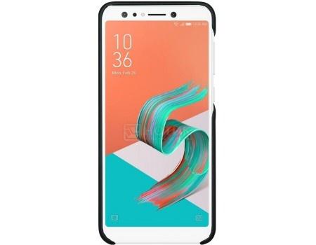 Фотография товара чехол-накладка G-Case Slim Premium для смартфона ASUS ZenFone 5 Lite ZC600KL, Искусственная кожа, Черный GG-949 (59900)