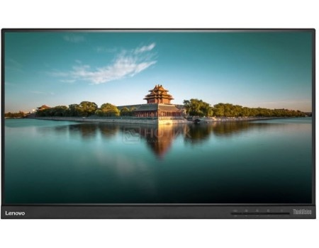 "Фотография товара монитор 23"" Lenovo ThinkVision T2364t, FHD, IPS, TouchScreen(MLT), VGA, 2xHDMI, 3xDP, 3xUSB 3.0 Черный 60E9MAT1EU (59985)"