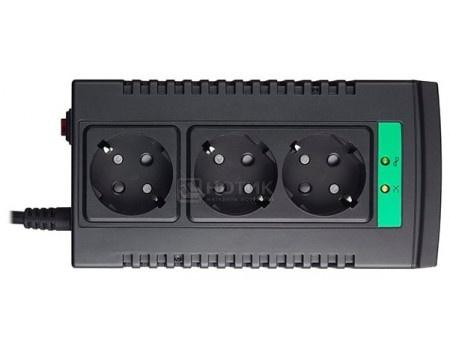 Фотография товара стабилизатор напряжения APC Line-R LS1000-RS 500 Вт 1000 ВA, Черный LS1000-RS (60011)