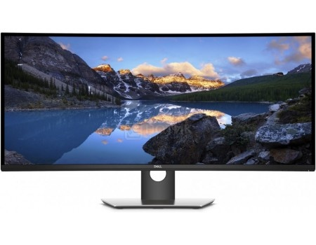 "Фотография товара монитор 37.5"" Dell U3818DW, WQHD+ , IPS, Curved, 2xHDMI, DP, 4xUSB 3.0, USB Type-C, Черный/Серый 3818-6837 (60087)"